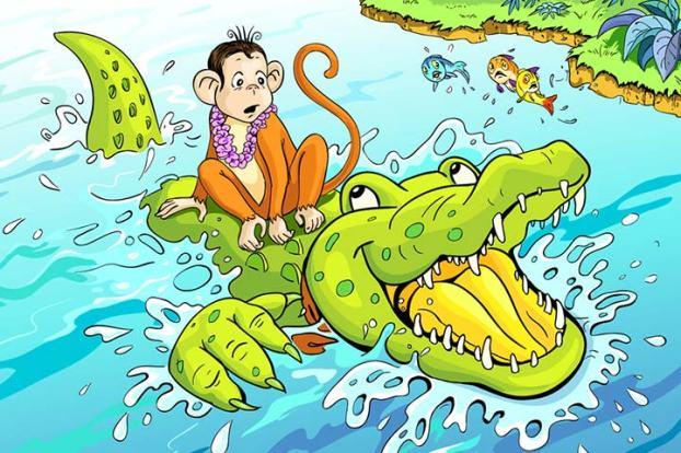 The-Monkey-And-The-Crocodile.jpg