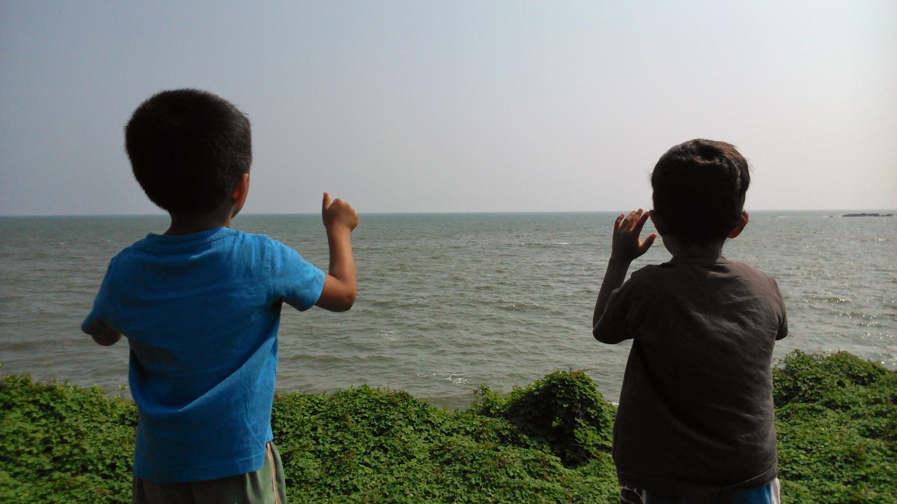 KK calling the waves