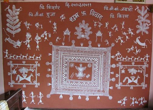 Image result for palghata warli art