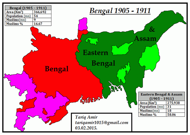 Image result for partition of bengal 1905
