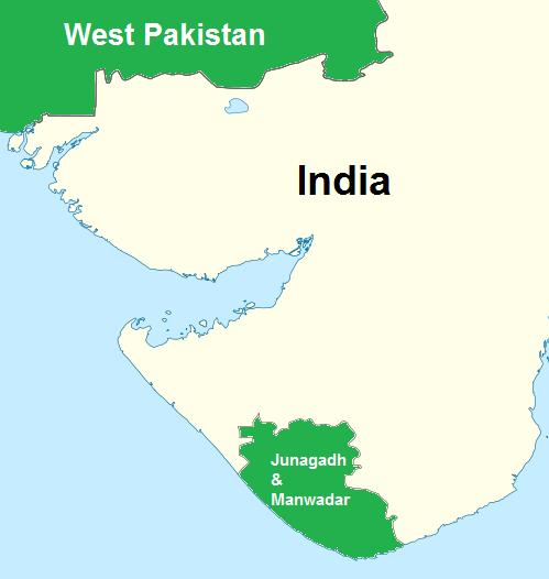 Junagadh map.png