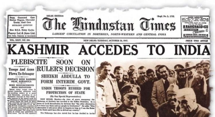 Kashmir accedes