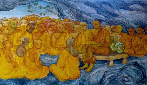 Nava_Jetavana_Temple_-_Shravasti_-_013_First_Council_at_Rajagaha_9241729223-1.jpg